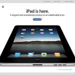 iPad 発売 2010/04/03