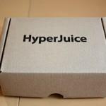 MacBook へ給電出来る外部バッテリー HyperJuice MBP-060を買ってみた