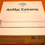 AirMac Extreme (第5世代) MD031J/A 購入。15400円。