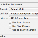 AutoLayout 問題で Xcode6 が起動しなくなった