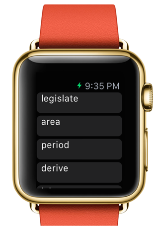 EvearLearn WatchApp