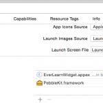 PebbleKit iOS SDK dynamic framework 問題