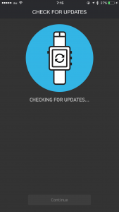 Pebble Update Error