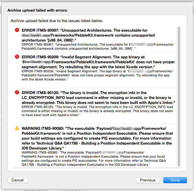 appstore-errors