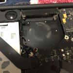 MacBook Pro Late 2011 13 inch が熱くなりすぎるので掃除してみた