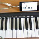 iPhone/iPad にMIDIキーボードを接続する