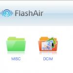 FlashAir W-03活用開始