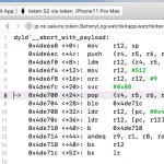 dyld`__abort_with_payload:でクラッシュ WatchKitApp on Xcode11.1