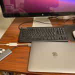 M1 MacBook Air に Apple LED Display をつないでみる