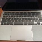 M1 MacBook Air にリストラグを貼ってみた